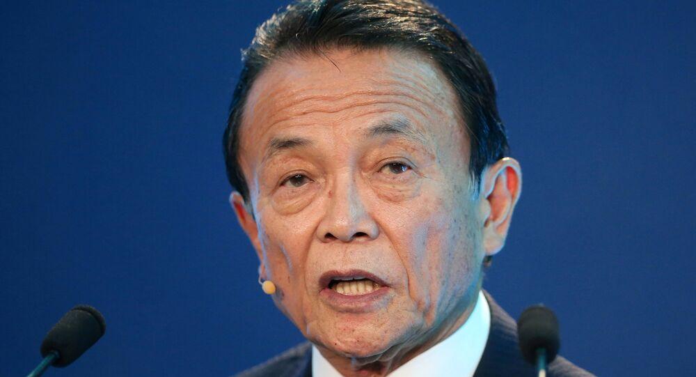 Vice-primeiro ministro do Japão, Taro Aso