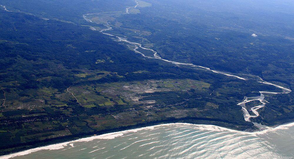 Ilha de Sumatra, na Indonésia