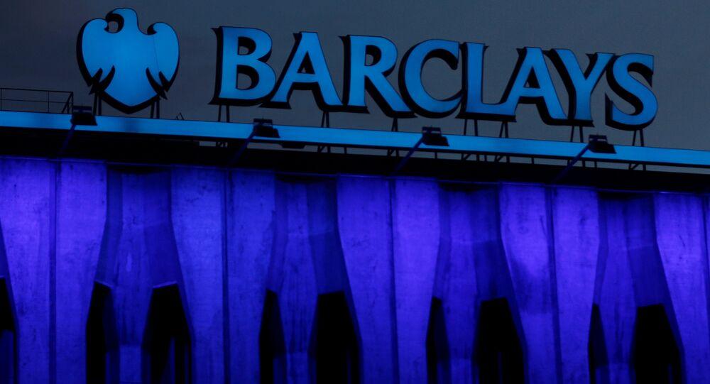 Logotipo do banco Barclays