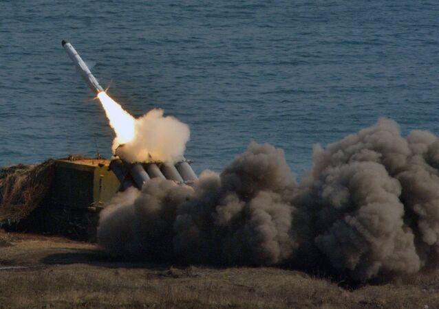 Sistema de defesa costeira Bal, foto de arquivo