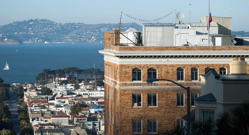 Consulado-Geral da Rússia em São Francisco, Califórnia (foto do arquivo)