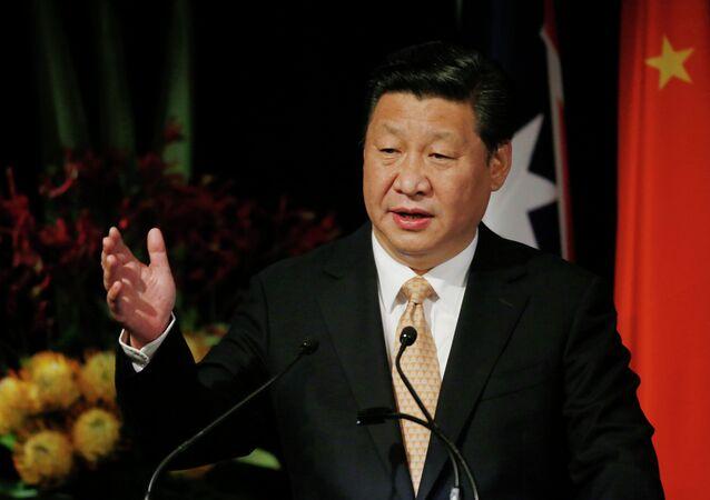 O presidente chinês Xi Jinping (foto de arquivo)