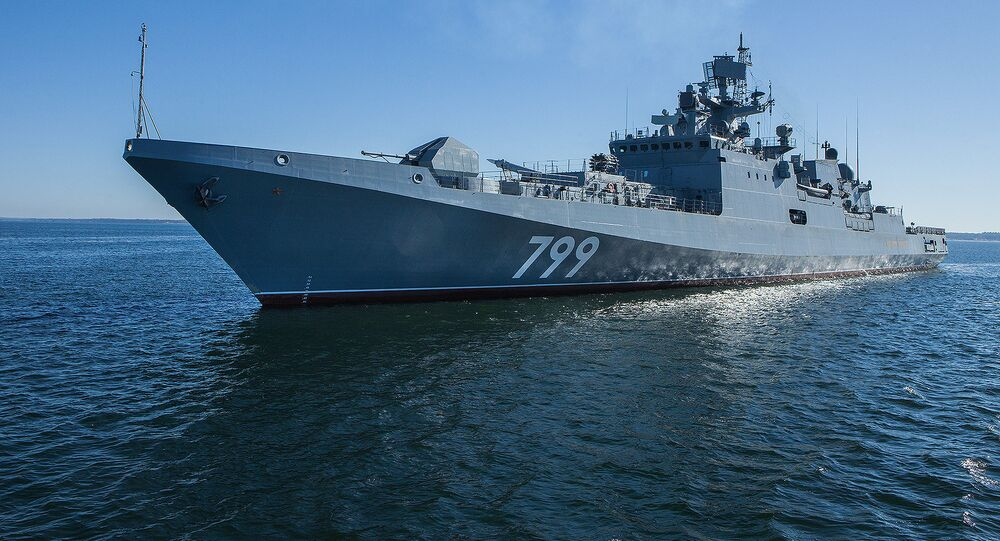 Fragata da Marinha russa Admiral Makarov