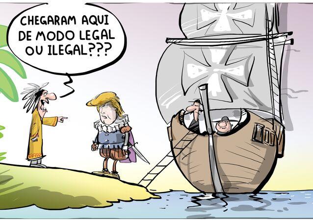 Quando antigos imigrantes não querem imigrantes modernos