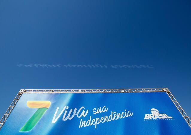Desfile do Dia da Independência em Brasília