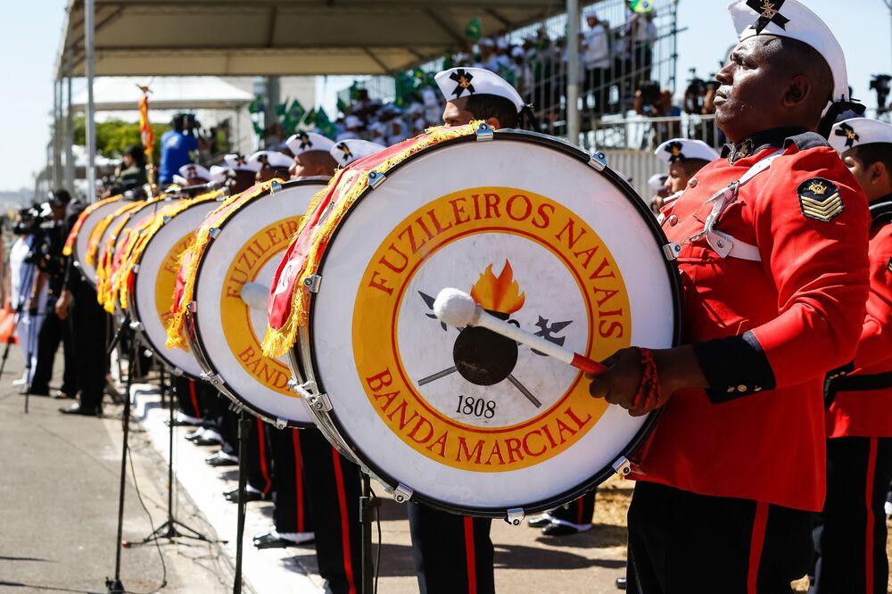 Banda Marcial do Corpo de Fuzileiros Navais da Marinha do Brasil