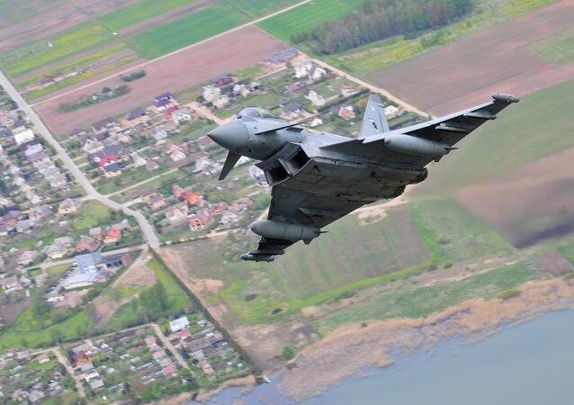 Eurofighter Typhoon das Forças Armadas britânicas