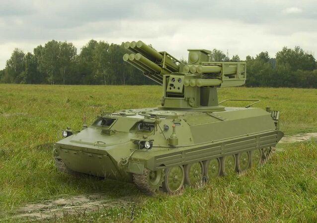 Sistema de defesa antiaérea Sosna