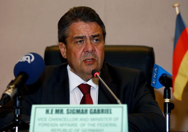 Chanceler alemão, Sigmar Gabriel (foto de arquivo)