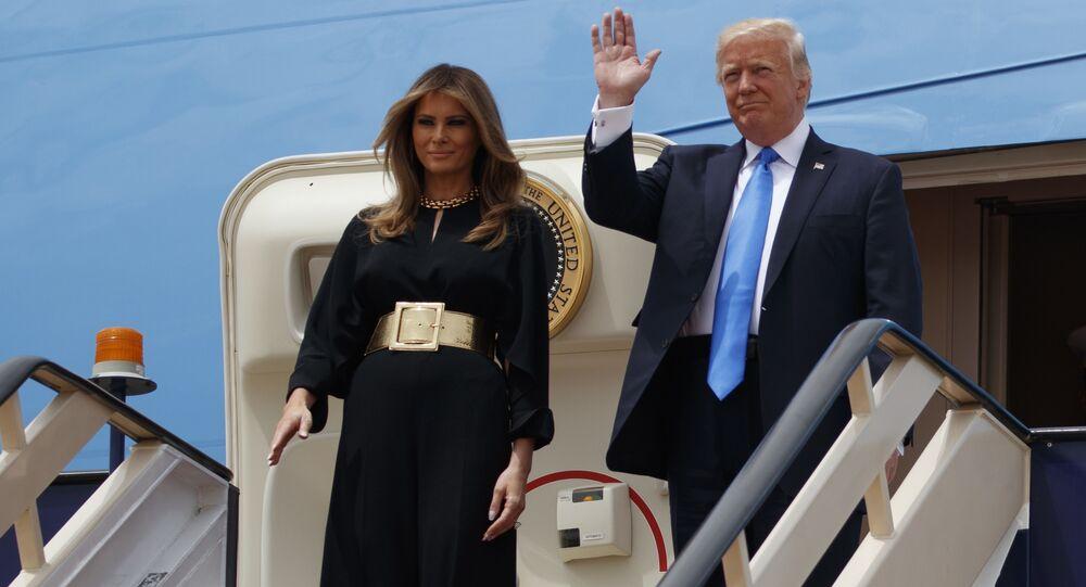 Melania Trump na Arábia Saudita