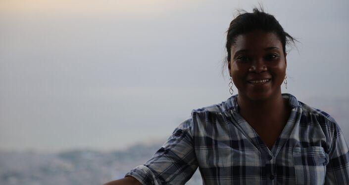 Savela Berenji: Quero que os haitianos sejam independentes para não precisarem do dinheiro de outros países