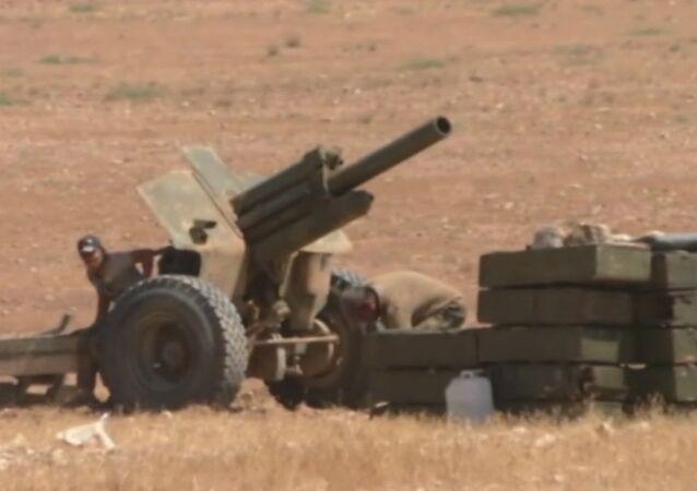 Forças sírias estão expulsando Daesh da província de Hama