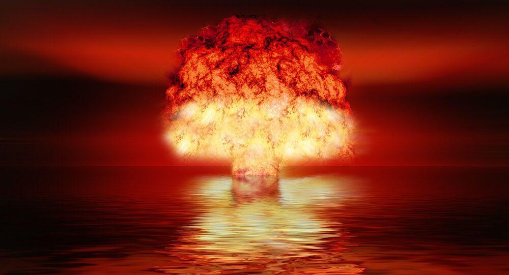 Explosão nuclear (imagem referencial)