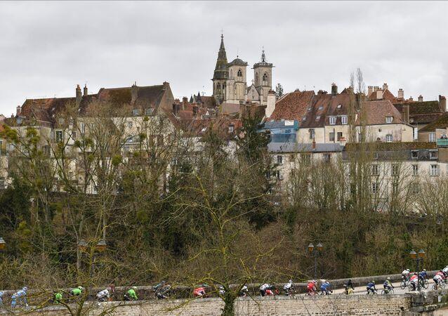 Área entre Chalon-sur-Saône e Chablis, na região francesa de Bourgogne-Franche-Comté