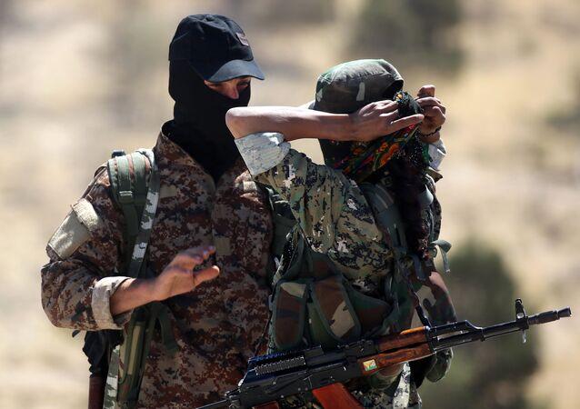 Rebeldes sírios (foto de arquivo)