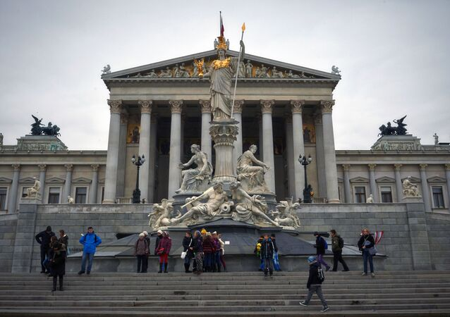 Edifício do Parlamento Austríaco, Viena