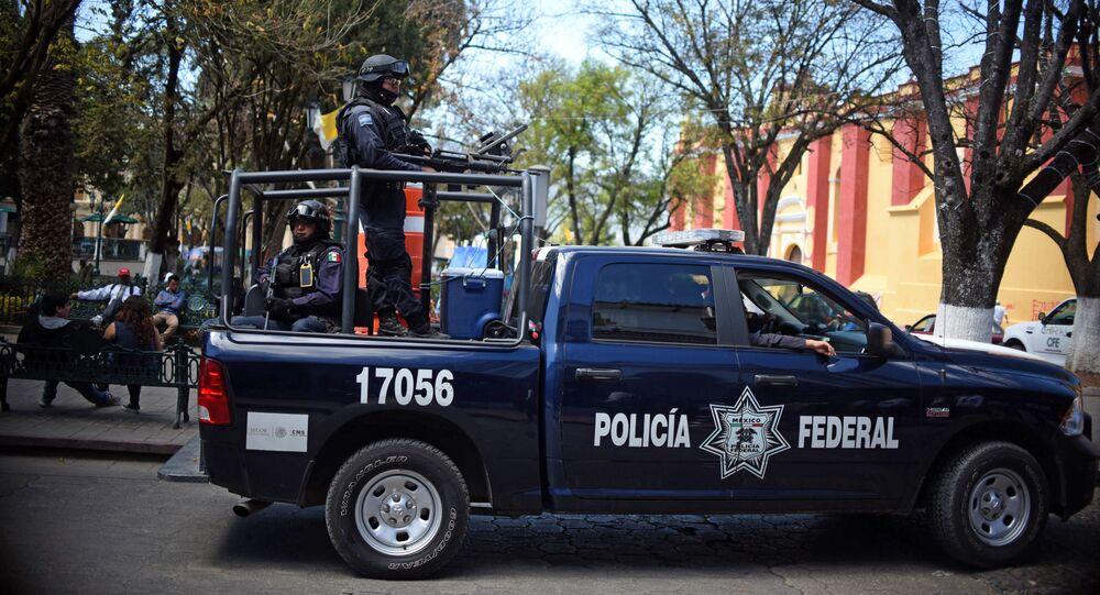 Polícia do México (foto de arquivo)