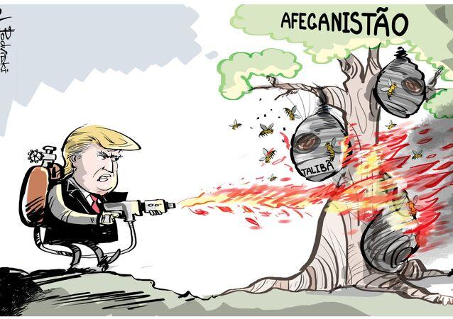 Trump e o 'cheiro de napalm pela manhã' no Afeganistão