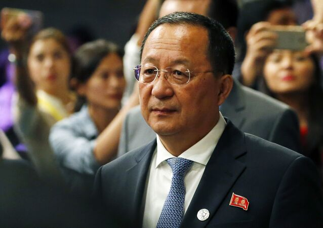Chanceler norte-coreano Ri Yong-ho