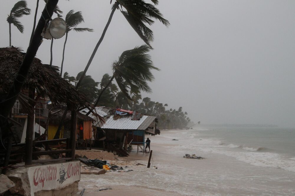 A tempestade deixou 15 mortos na ilha de Dominica.
