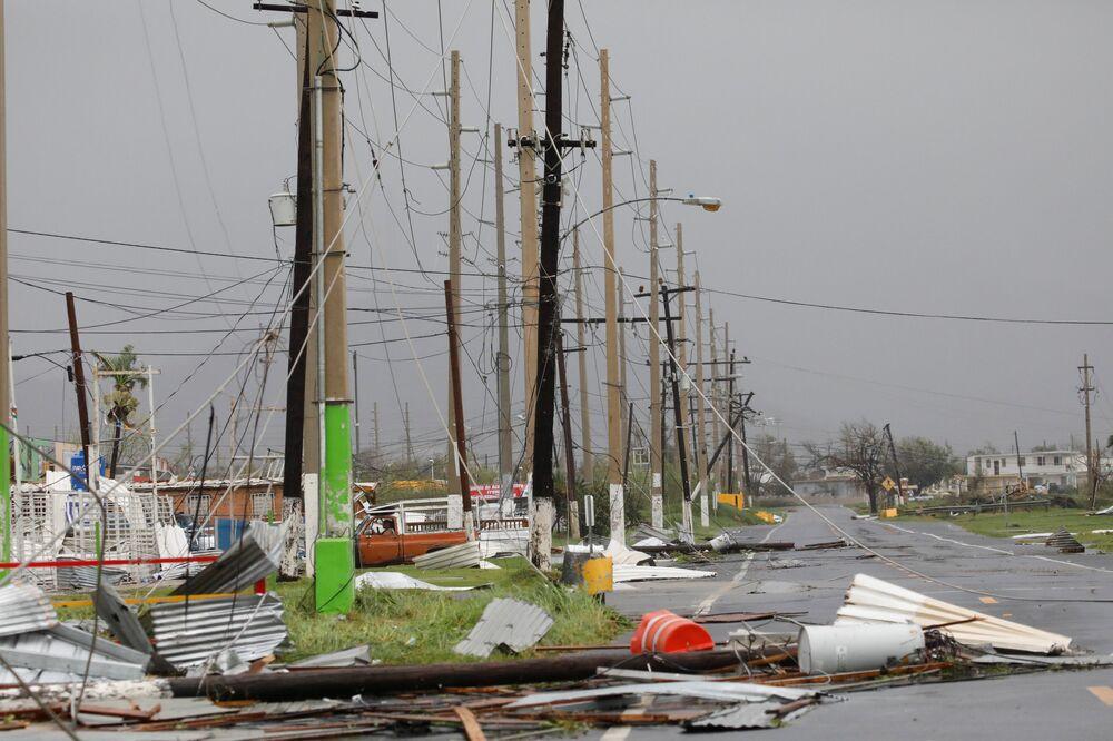 Já em Porto Rico, foi confirmada uma morte.