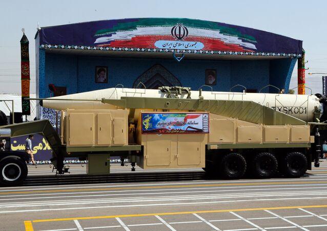 Novo míssil balístico do Irã Khoramshahr, 22 de setembro, 2017