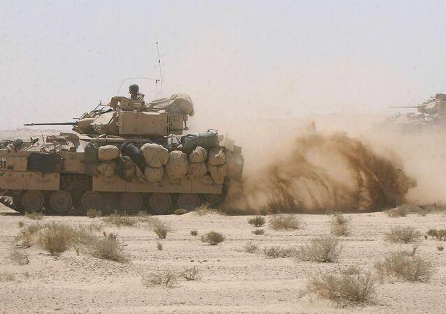 Exército dos EUA nos veículos blindados