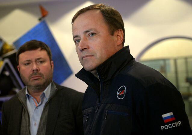 Diretor da Roscosmos Igor Komarov