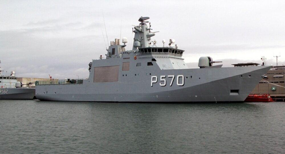 Navio de patrulha oceânico da classe Knud Rasmussen