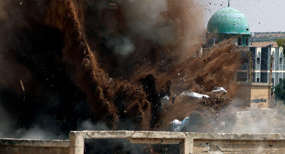 Ações militares na Síria (foto de arquivo)