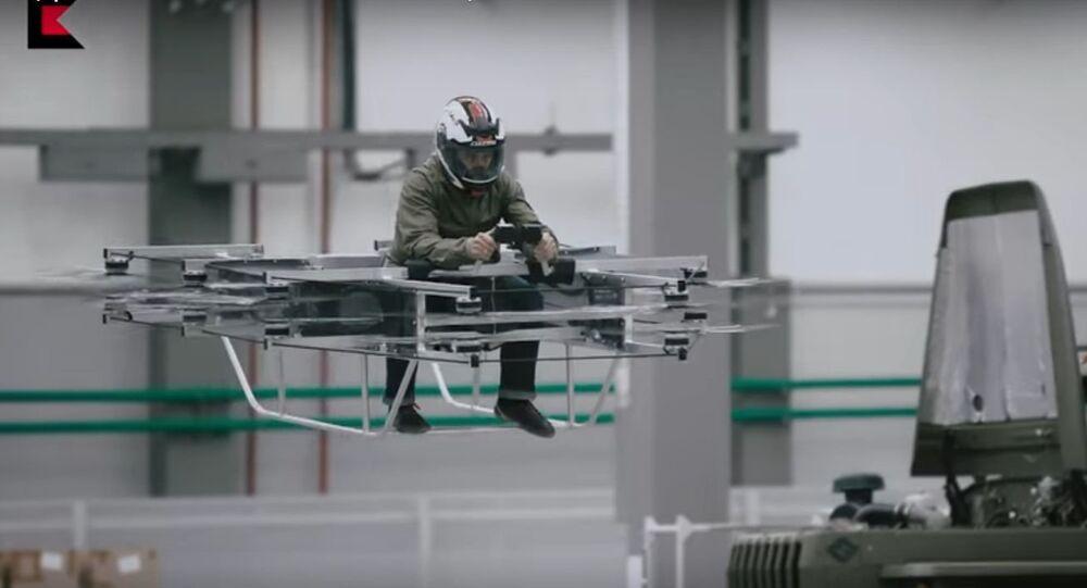 Carro voador é uma das inovações que estão sendo desenvolvidas pela Kalashnikov