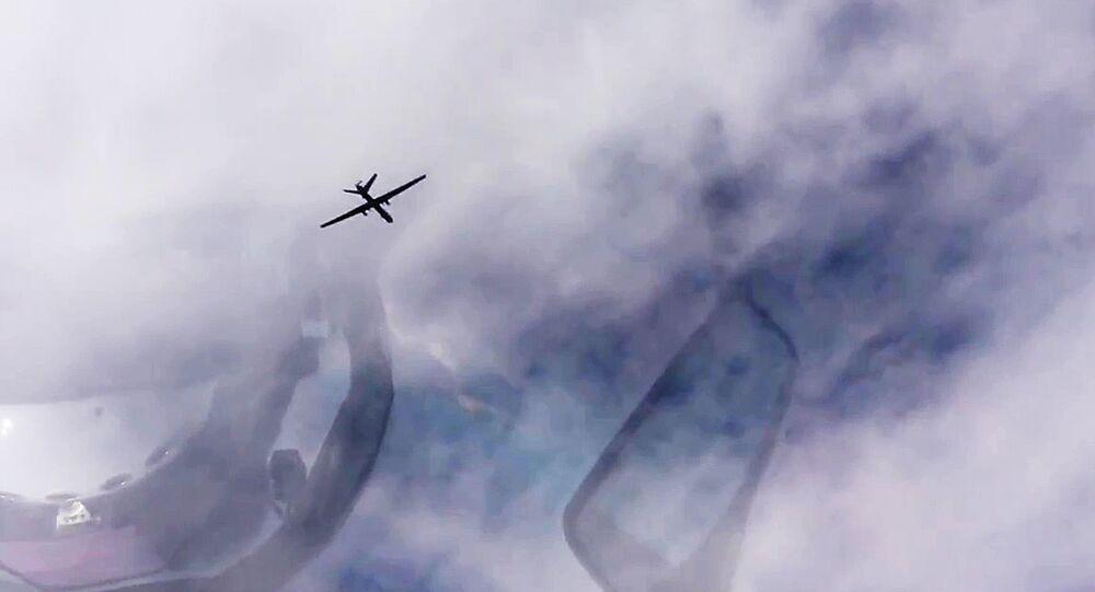 Aparato aéreo não tripulado (foto de arquivo)