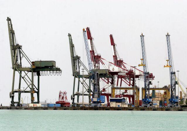 Vista geral do porto Imam Khomeini, ao sul de Teerã, no Irã, em 18 de maio de 2008 (imagem referencial).