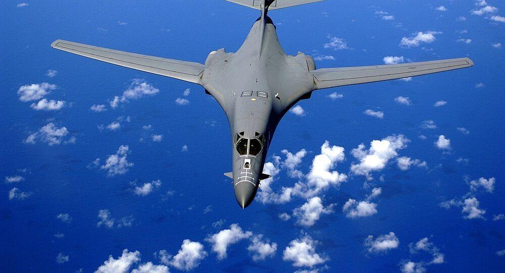 Bombardeiro B-1B da Força Aérea dos EUA