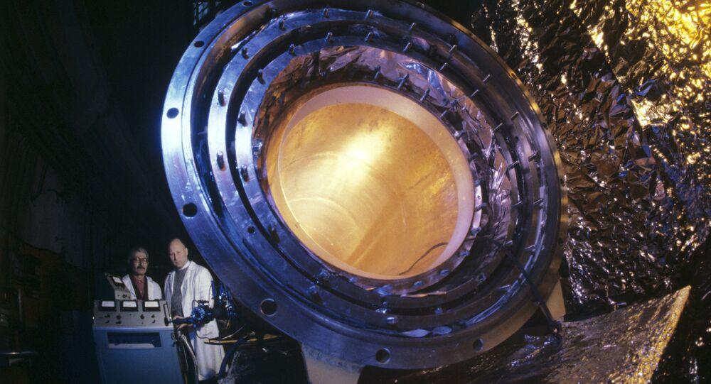 Antena para detectar as ondas gravitacionais