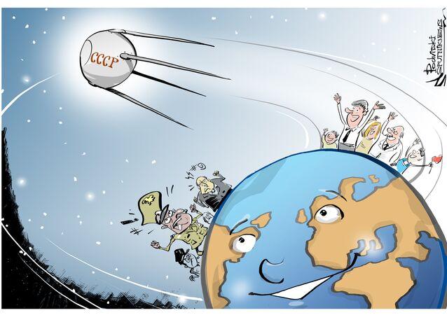 E aí, Terra, sou seu Sputnik!