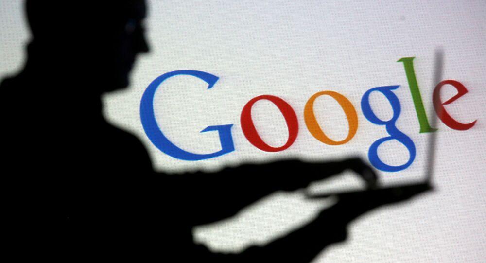 Logo da empresa Google