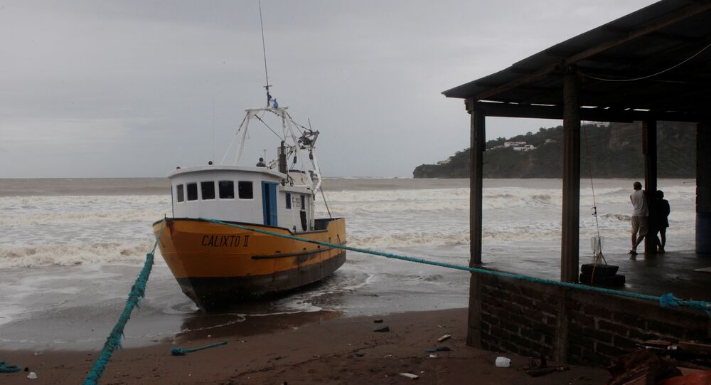 Tempestade tropical Nate na Costa Rica