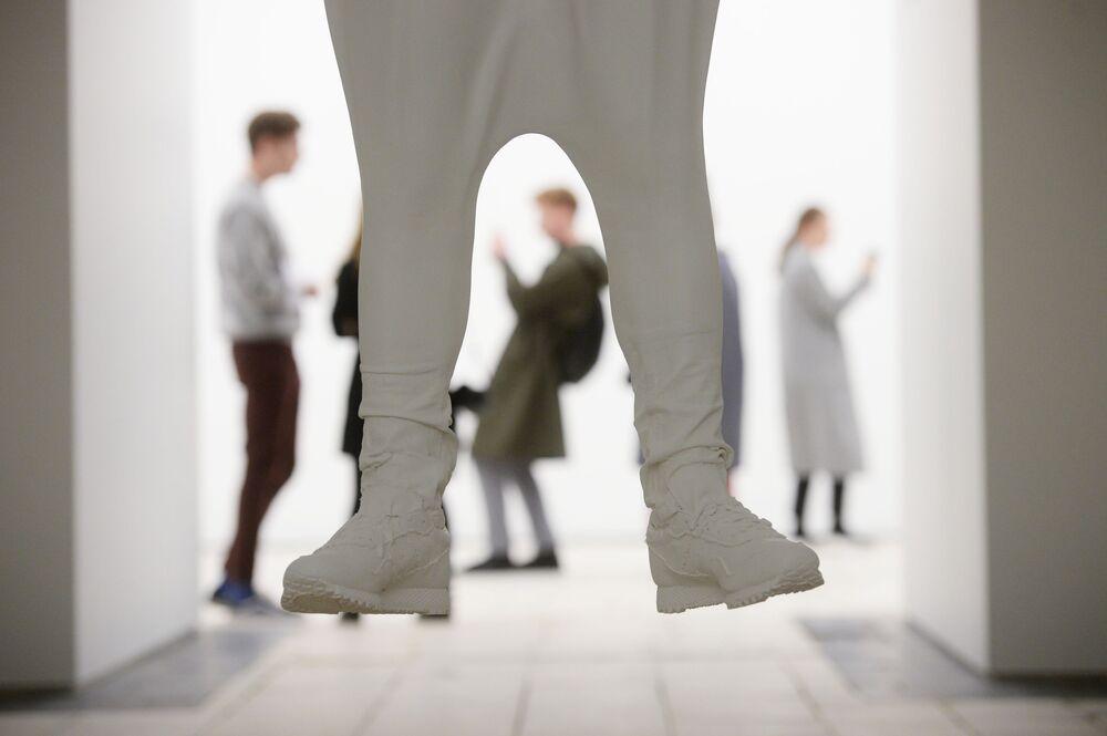 Exposição de artista norte-americano Daniel Arsham, em Moscou