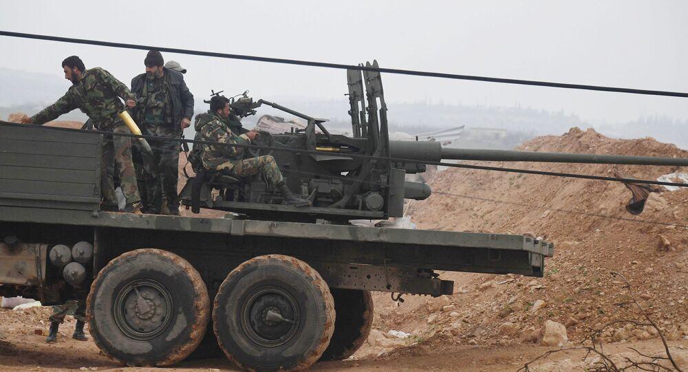 Exército sírio (foto de arquivo)