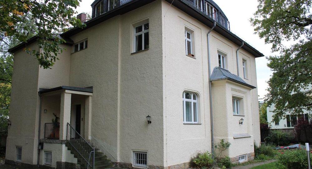 Antigo edíficio da KGB em Dresden, ex-lugar de trabalho de Vladimir Putin