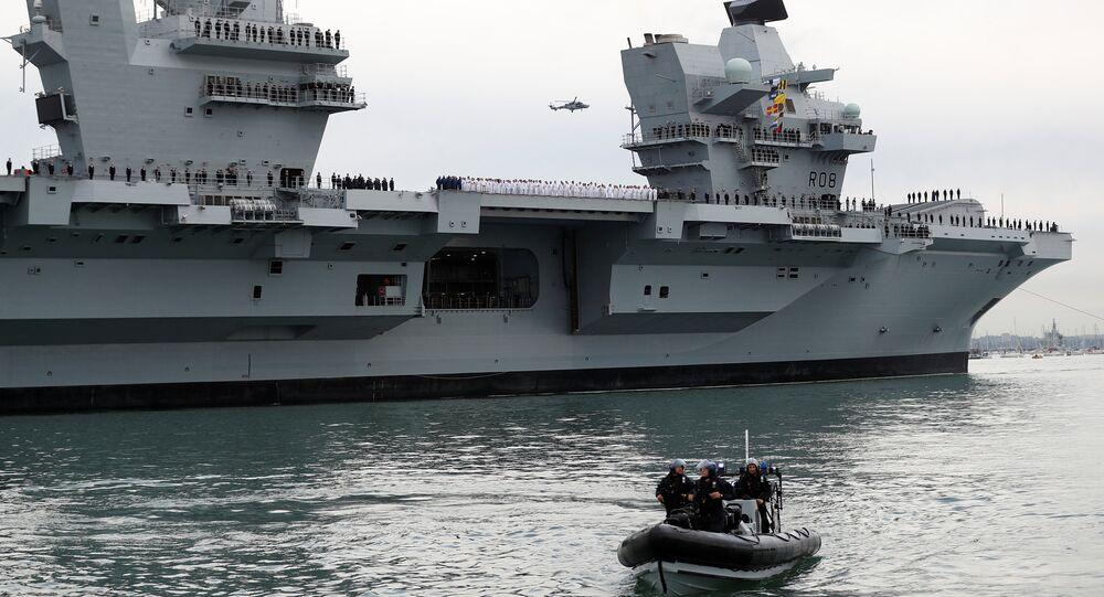 Reino Unido planeja enviar porta-aviões para Indo-Pacífico para confrontar China