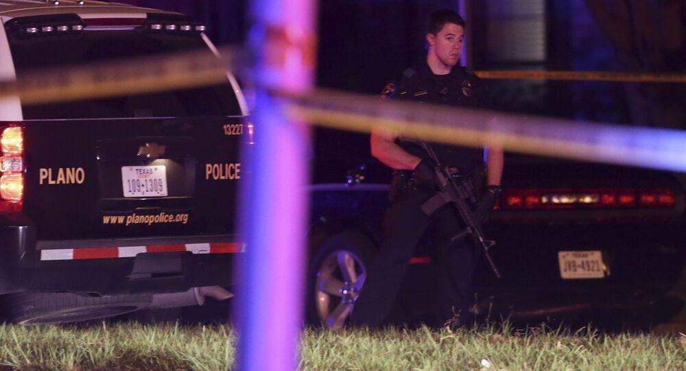 Polícia do Texas durante operação (arquivo)