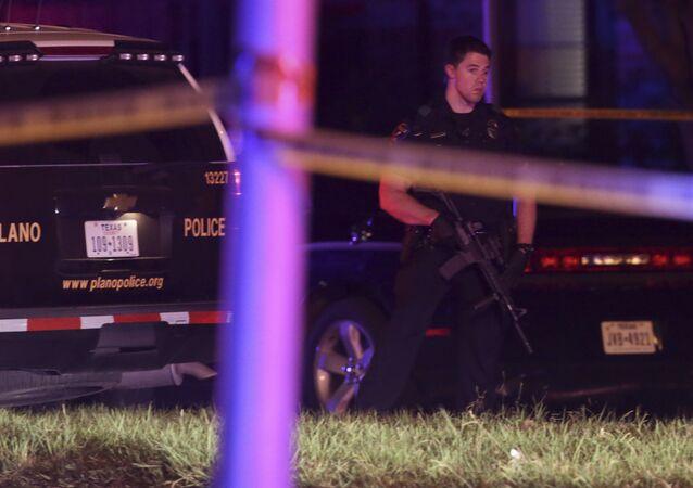 Polícia do Texas, nos EUA, durante operação (arquivo)