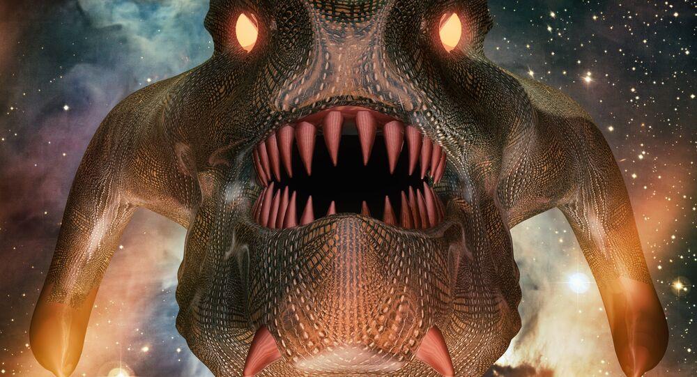 Um monstro (imagem ilustrativa)