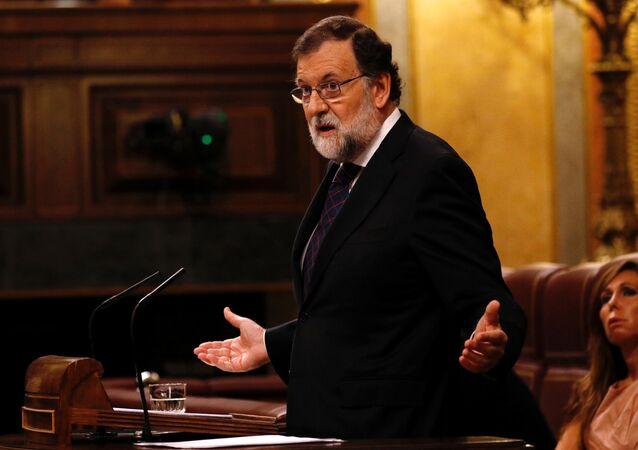 Primeiro-ministro espanhol Mariano Rajoy