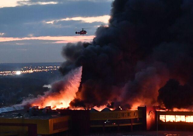 Incêndio em Moscou (imagem ilustrativa)