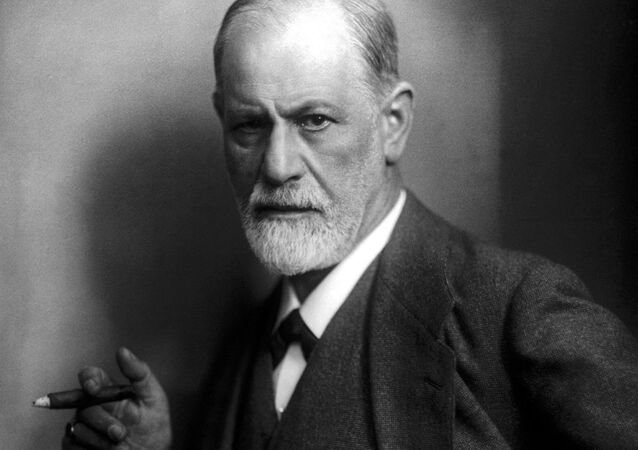 O pai da psicanálise, Sigmund Freud (foto de arquivo)
