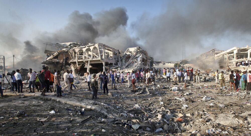 Ataque terrorista de 14 de outubro, na Somália.