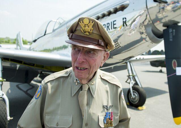 Jerry Yellin, veterano norte-americano da Segunda Guerra Mundial